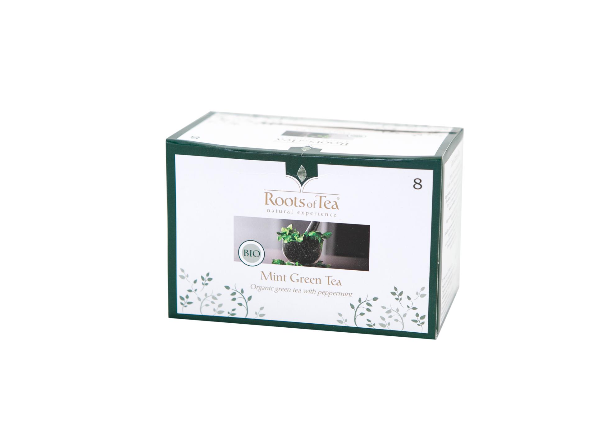 Mint Green Tea BIO