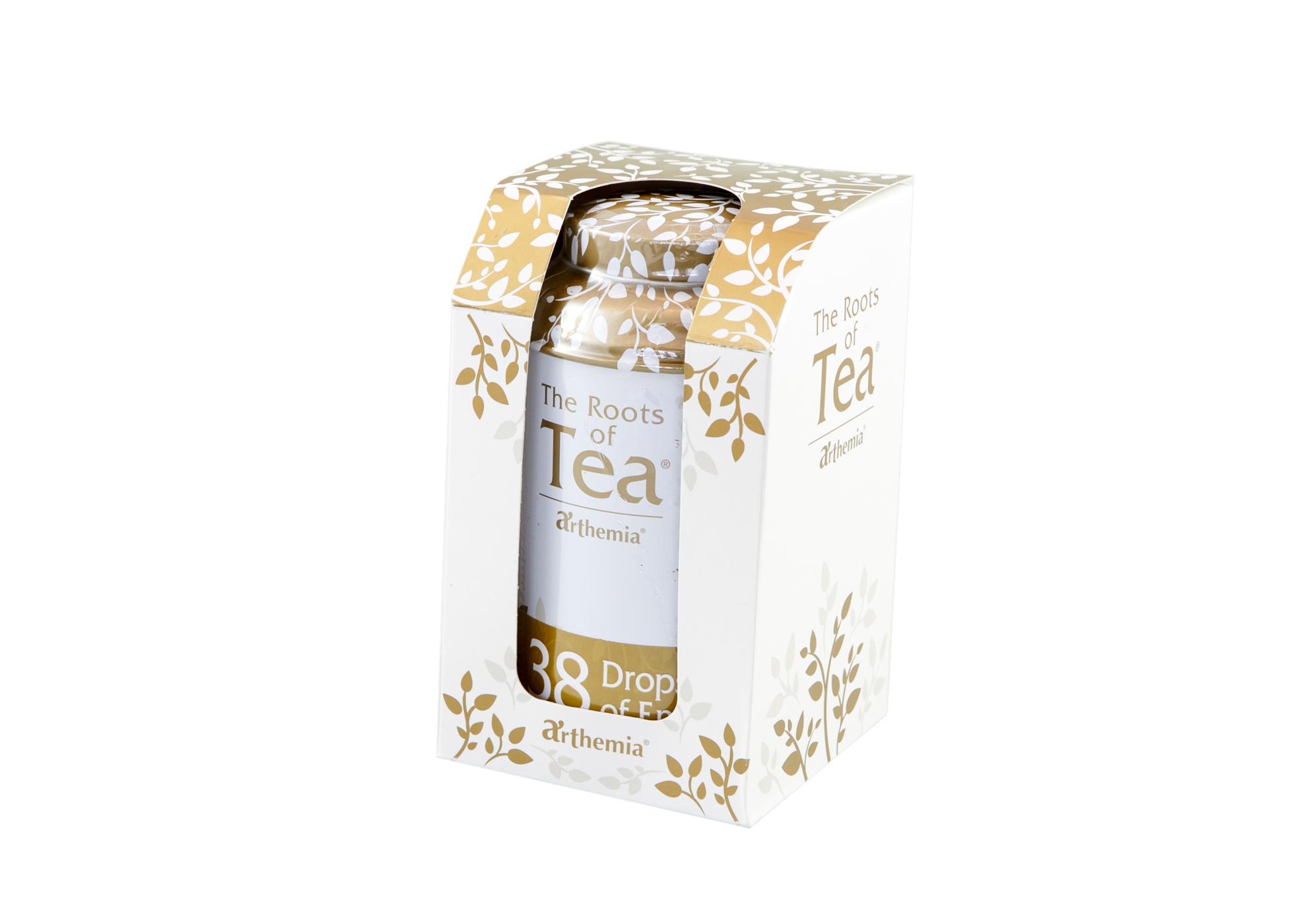Tea Leaves Drops of Energy