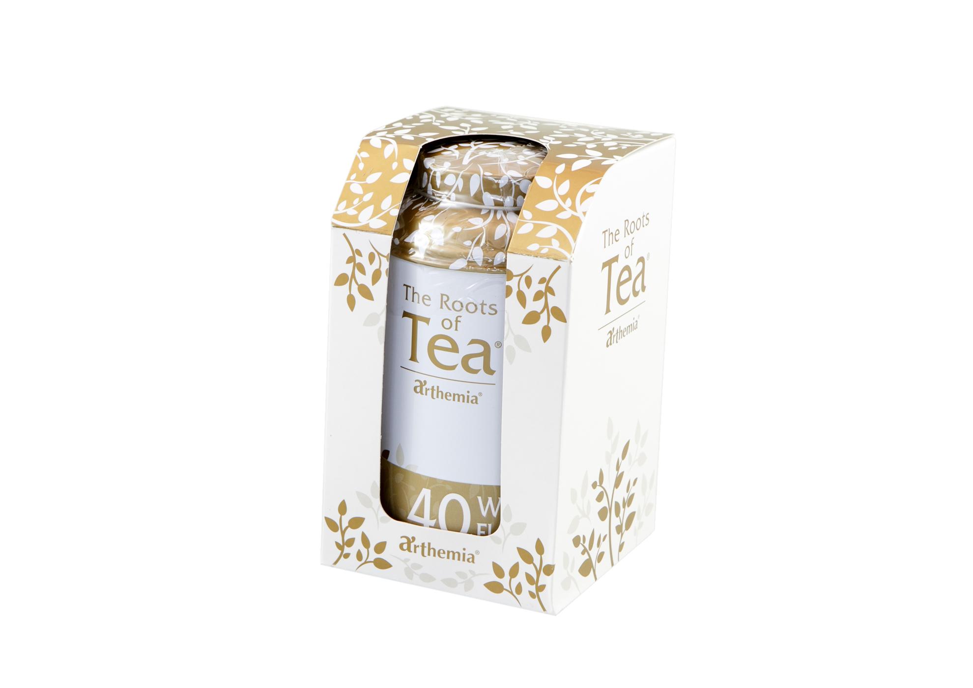 Tea Leaves White Flowers